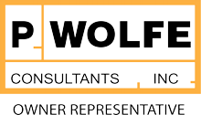 P. Wolfe Consultants, Inc. Owner Representative logo